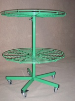 Table-shaped stand