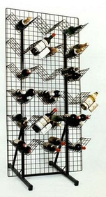 Grid-based wine display